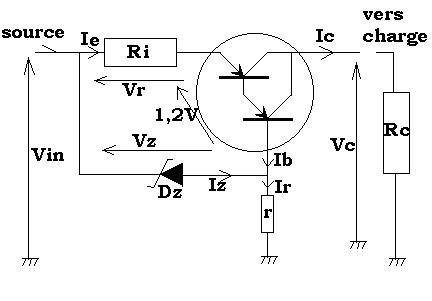 schéma d'un chargeur d'accu